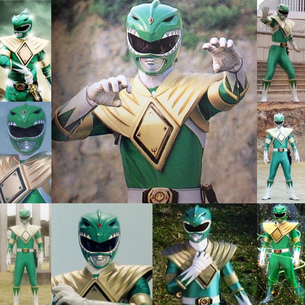Mighty Morphin Power Rangers Wallpaper: The Green Ranger (Mighty Morphin Power Rangers) By