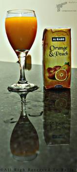 Orange and Peach