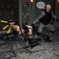 Spanking Bench  Slave of Trinity    by Akahando