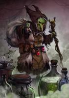 Poison Witch by KockeKocke