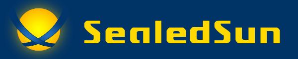 The 'SealedSun' title graphic by SealedSun