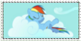 Rainbow Dash Stamp by mariokinz