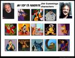 Top 13 Favorite Jim Cummings Characters