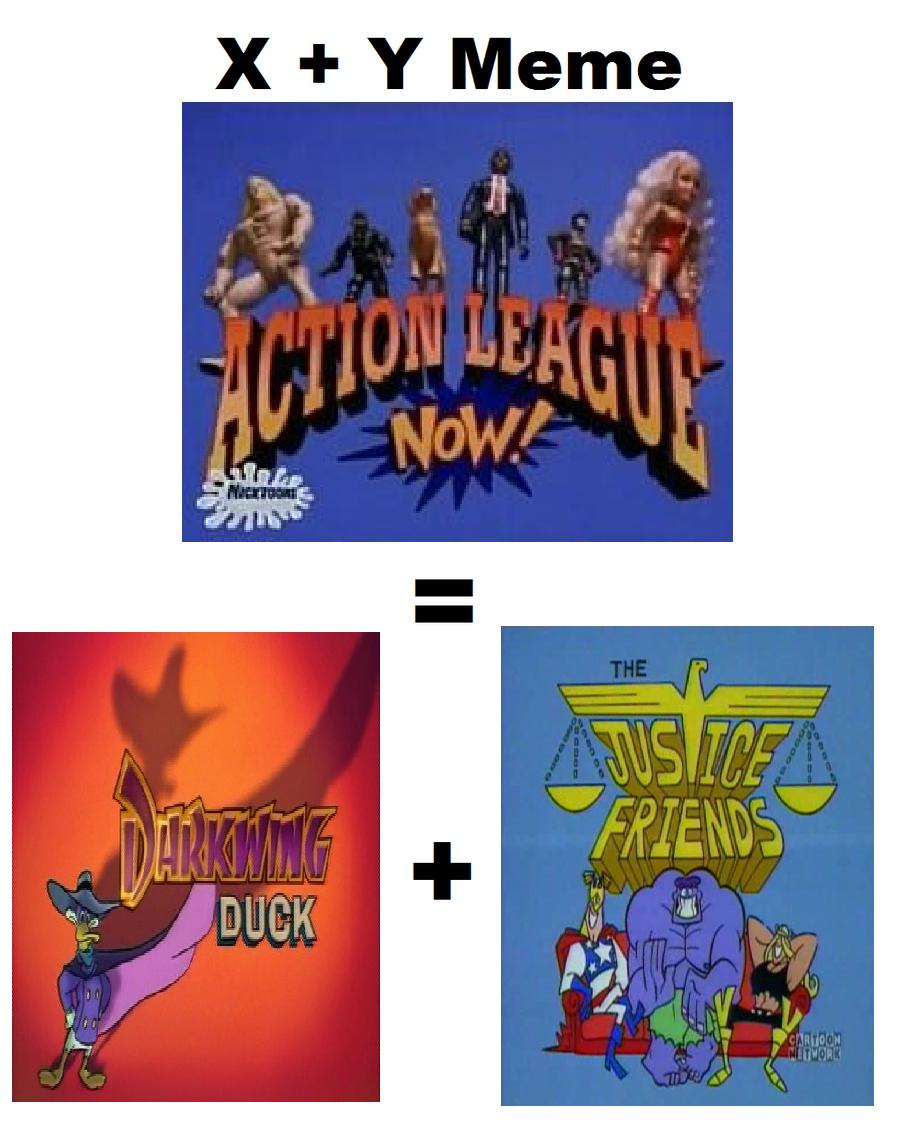 X + Y Meme - Action League NOW by Prentis-65