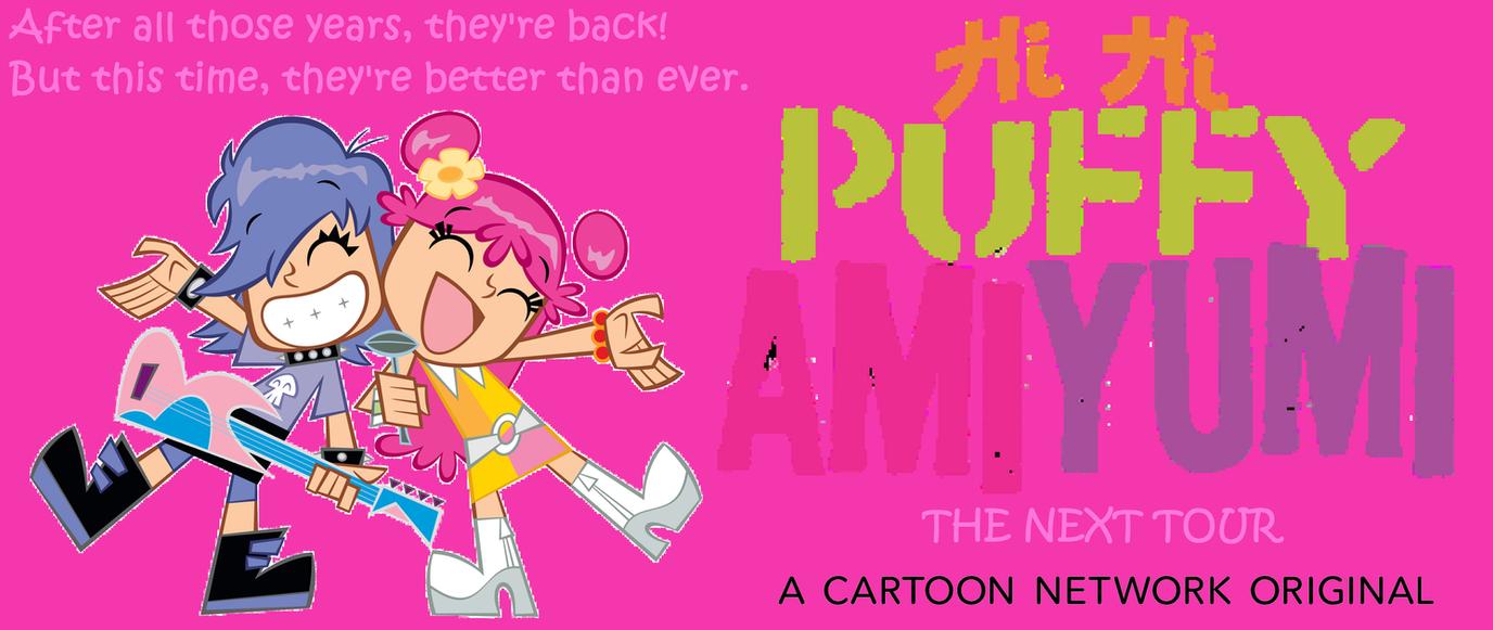 Hi Hi Puffy AmiYumi: The Next Tour Poster by Prentis-65