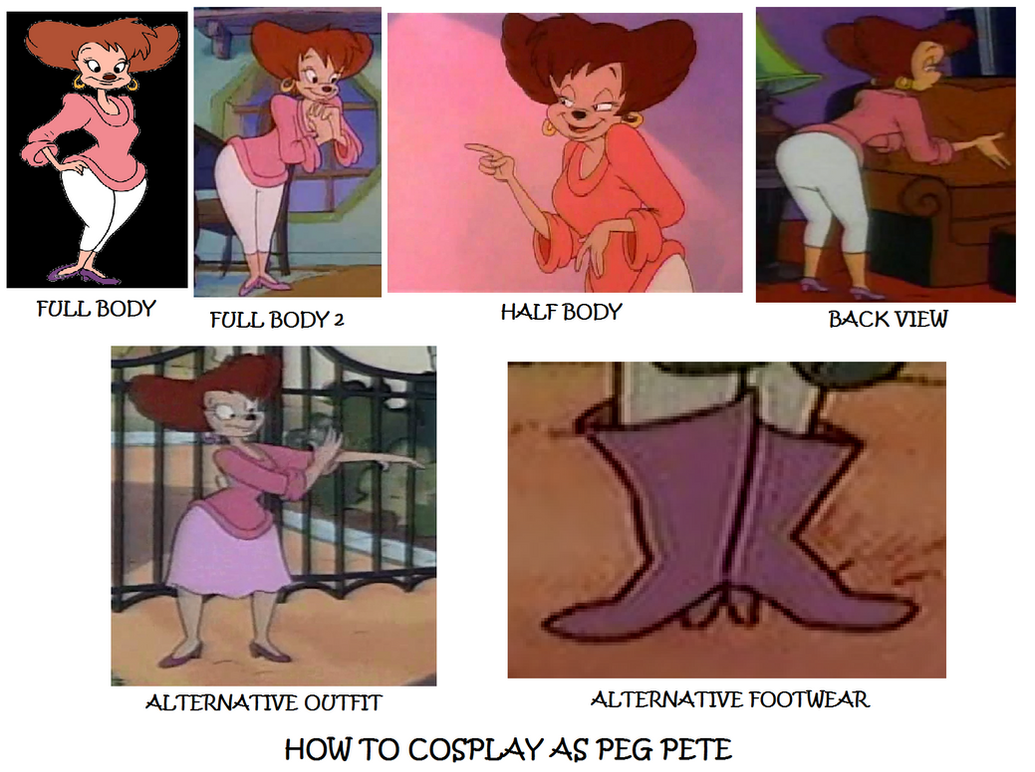 How to Cosplay as Peg Pete by Prentis-65