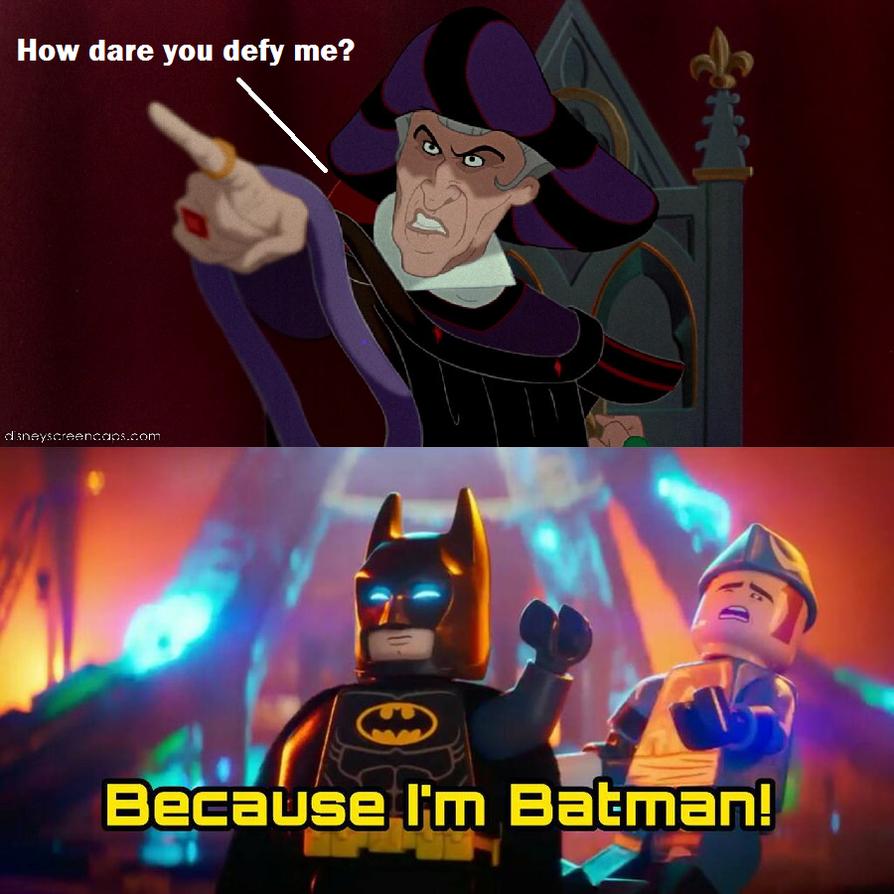 BatMan Beats Frollo by Prentis-65