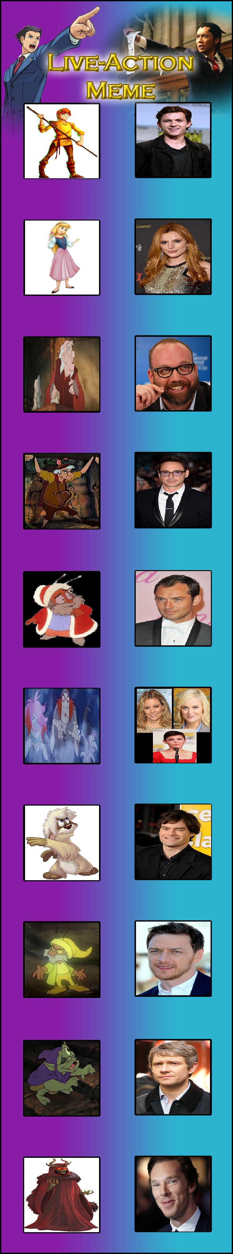 The Black Cauldron Live Action Cast by Prentis-65