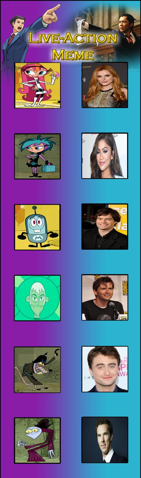 The Modifyers Live Action Cast by Prentis-65