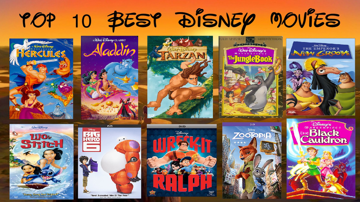 My Top 10 Best Disney Animated Classics by Prentis-65