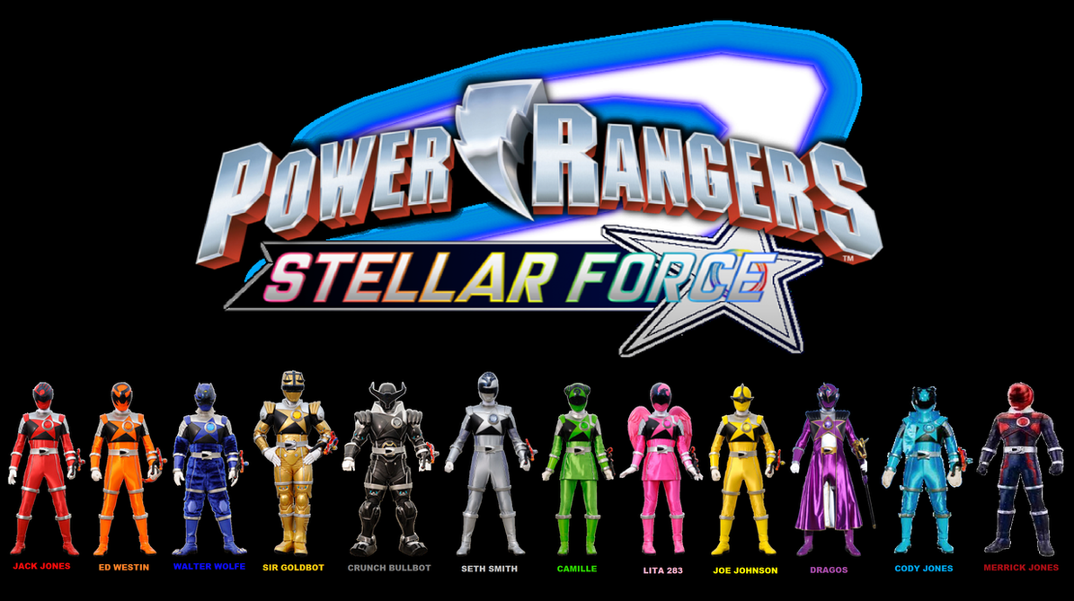 Power Rangers: Stellar Force Poster by Prentis-65