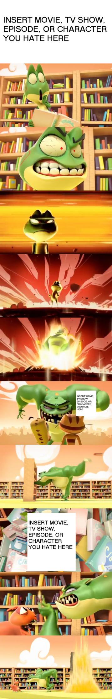 Kaeloo's Reaction to Something Meme by Prentis-65