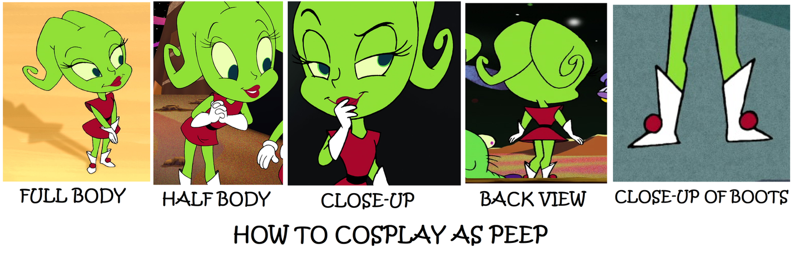 How to Cosplay as Peep by Prentis-65