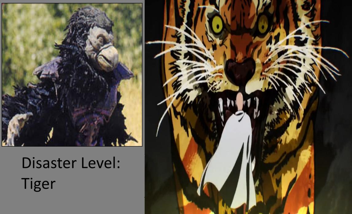 Disaster Level: Tiger-Tenga Warrior by Prentis-65