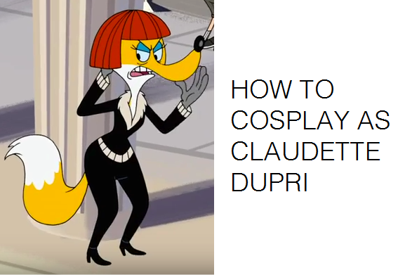 How to Cosplay as Claudette Dupri Fox by Prentis-65