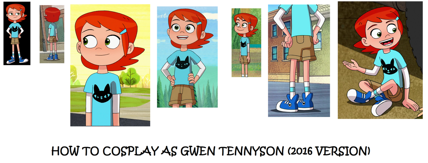 How to Cosplay as Gwen Tennyson by Prentis-65