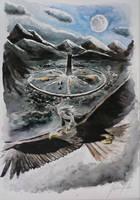 Fuga de Isengard by Giulianog