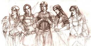 Feanarioni in Beleriand wip.up