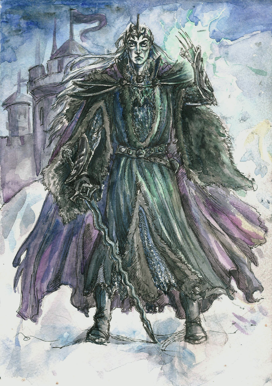 King of Angmar by Righon