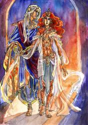 Nerevar and Almalexia
