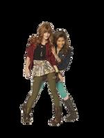 Zendaya and Bella - Png by EmilyMalik