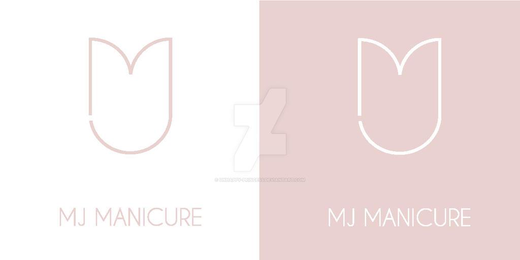 Logotype: MJ MANICURE by unhappy-princess