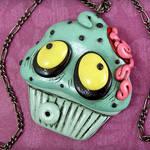 Zombie Cupcake Necklace II