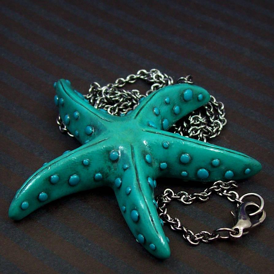 Sea Star Necklace by True-Crimeberry