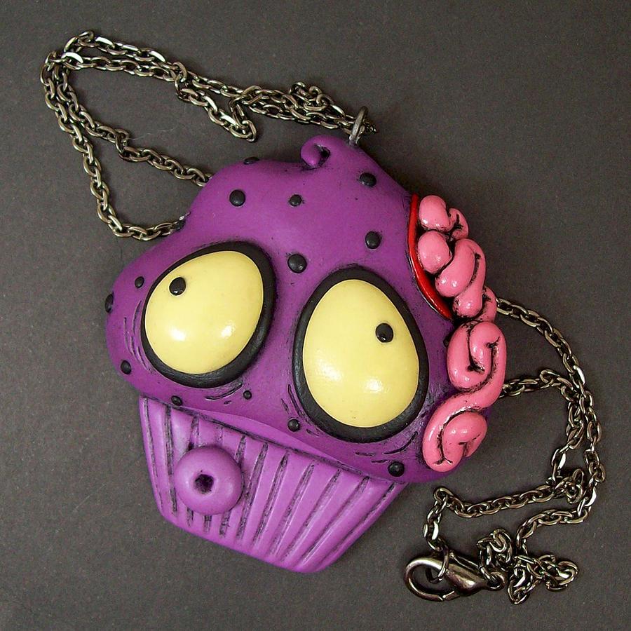 Zombie Cupcake custom by beatblack