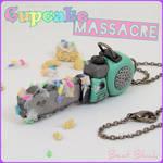 Cupcake Massacre Chainsaw Necklace