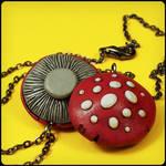Red Mushroom Necklaces
