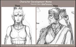 Character Development Meme Gia by Pitdragon