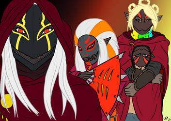 Nyo'ka's Crew by Pitdragon