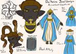 Dia'heira Jaal'Darya sheet update by Pitdragon