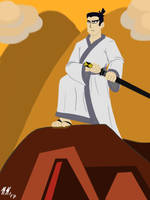 Time-lost Samurai by Pitdragon