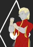 Tough Ssu Warden by Pitdragon