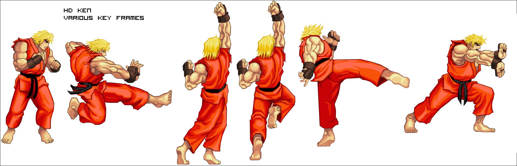 Ryu Hadouken Sprite