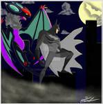 Batman And Noivern