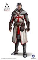 ACC Rogue Shay Templar Armor 11th Cen by satanasov