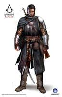 ACC Rogue Shay Templar Armor 14th Cen by satanasov