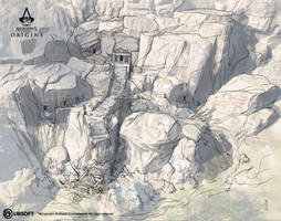 AC Origins Necropolis by satanasov