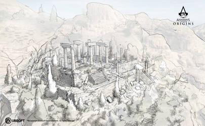 AC Origins Ruins