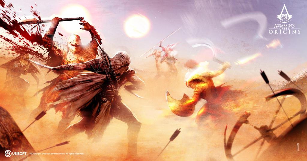 AC Origins Desert Overheat mood 2 by satanasov