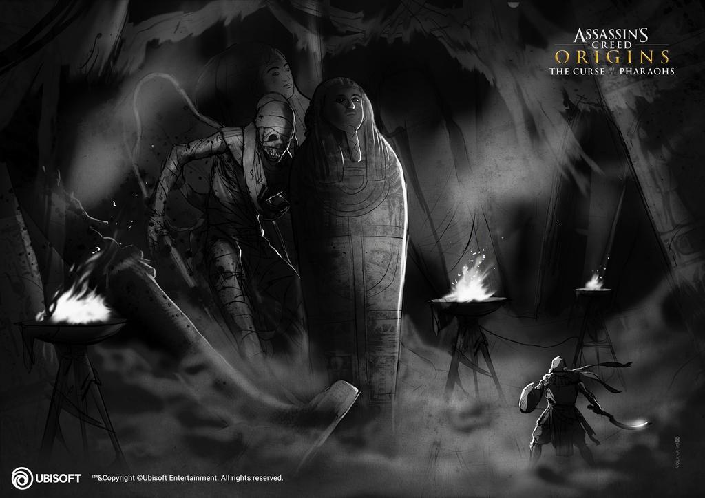 Assassin's Creed Origins: Curse of the Pharaoh 30 by satanasov
