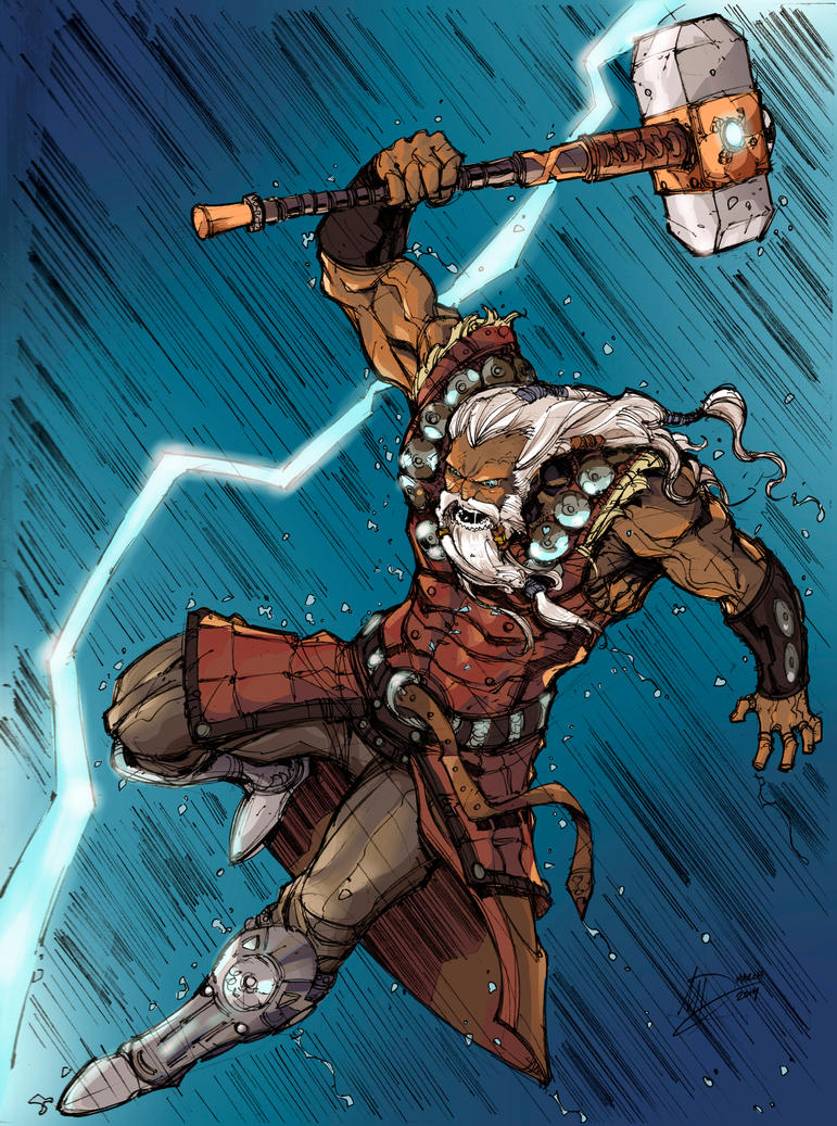 My colors for Max Dunbar thor by Brenofil