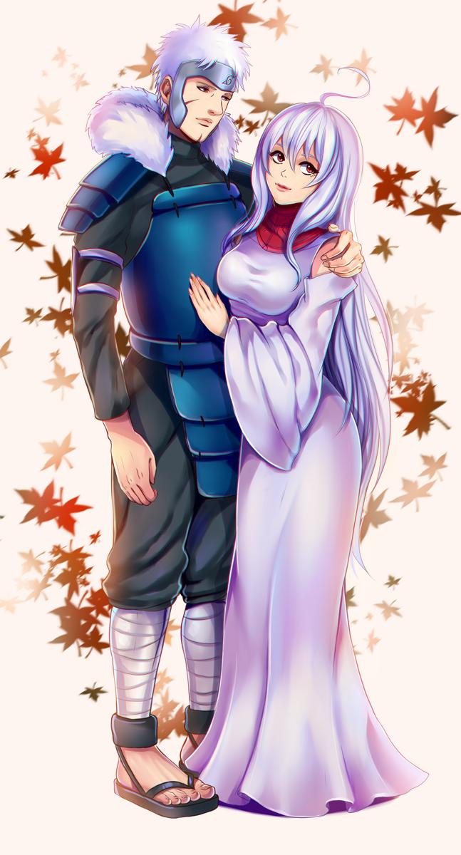Tobirama and his lady {Tobigin} by Rarity-Princess