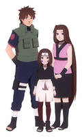 Rin and her parents