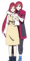 Kushina's parents {Kaya and rota uzumaki}