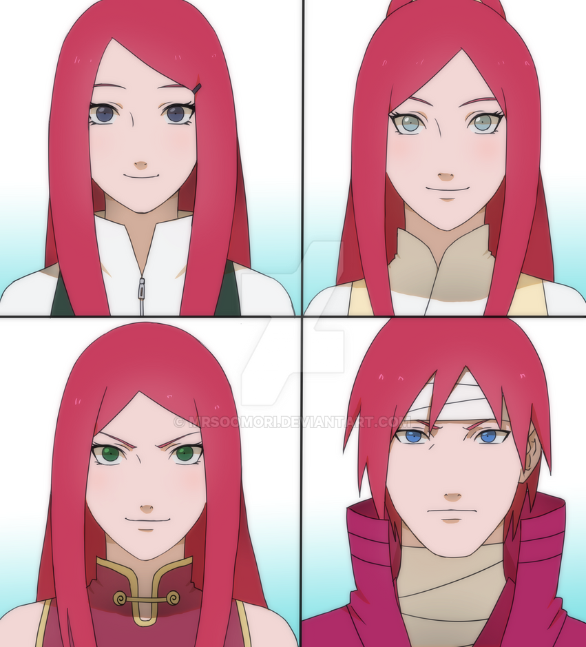 Kushina And Her Family By Rarity-Princess On DeviantArt