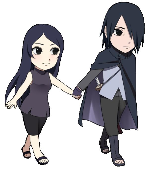 Sasuke and mafumi {Gaiden} by Rarity-Princess